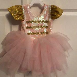 Nutcracker pink tulle Belle Threads tutu dress